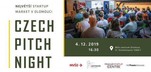 Czech Pitch Night Olomouc